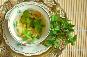 mint also protect from belly flu